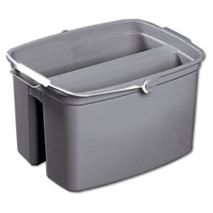 RCP 2617GRA Rubbermaid Commercial Double Utility Pail RCP2617GRA