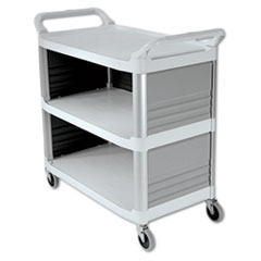 RCP 4093CRE Rubbermaid Commercial Xtra Utility Cart RCP4093CRE