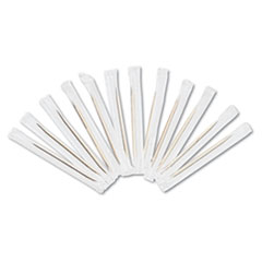 RPP RIW15 Royal Cello-Wrapped Round Wood Toothpicks RPPRIW15