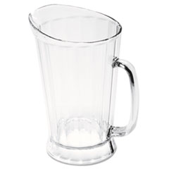 RCP 3334CLE Rubbermaid Commercial Bouncer Plastic Pitcher RCP3334CLE