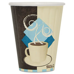 SCC IC8J7534PK Dart Duo Shield Insulated Paper Hot Cups SCCIC8J7534PK