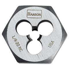 HNS 6520 IRWIN  HANSON  High-Carbon Steel Fractional Hexagon Die 6520 HNS6520