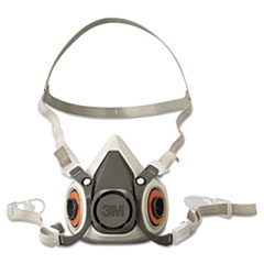 MMM 6100 3M Half Facepiece Respirator 6000 Series, Reusable MMM6100