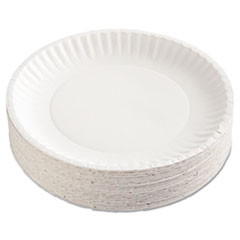 AJM PP9GRAWHPK AJM Packaging Corporation Paper Plates AJMPP9GRAWHPK