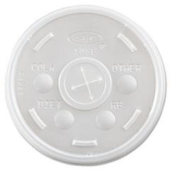 DCC 10SL Dart Plastic Cold Cup Lids DCC10SL