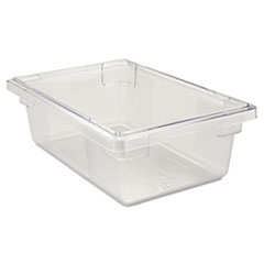 RCP 3309CLE Rubbermaid Commercial Food/Tote Boxes RCP3309CLE