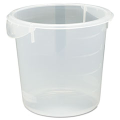 RCP 572124CLE Rubbermaid Commercial Round Storage Containers RCP572124CLE