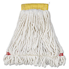 RCP A251WHI Rubbermaid Commercial Web Foot Shrinkless Wet Mop RCPA251WHI