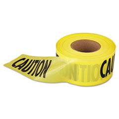 "EML 711001 Empire 1,000 ft. x 3 in. ""Caution"" Barricade Tape (Yellow) EML711001"