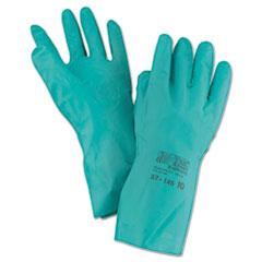 ANS 3714510 AnsellPro Sol-Vex Sandpatch-Grip Nitrile Gloves ANS3714510