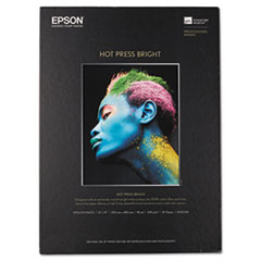 EPS S042330 Epson Hot Press Bright Fine Art Paper EPSS042330