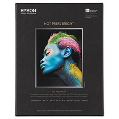EPS S042327 Epson Hot Press Bright Fine Art Paper EPSS042327