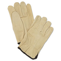MPG 3400L MCR Safety Unlined Pigskin Driver Gloves MPG3400L