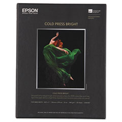 EPS S042307 Epson Cold Press Bright Fine Art Paper EPSS042307