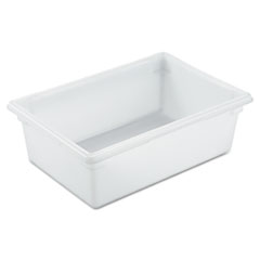 RCP 3500WHI Rubbermaid Commercial Food/Tote Boxes RCP3500WHI