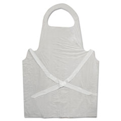 BWK 390 Boardwalk Disposable Apron BWK390
