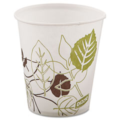 DXE 58PATHPK Dixie Pathways Wax Treated Paper Cold Cups DXE58PATHPK