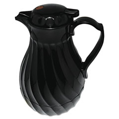 HOR 402264B Hormel Swirl Design Poly Lined Carafe HOR402264B