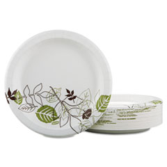 DXE UX9PATHPBBX Dixie Pathways Soak-Proof Shield Mediumweight Paper Plates DXEUX9PATHPBBX