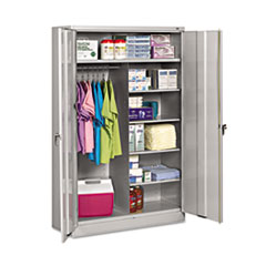 TNN J2478SUCLGY Tennsco Assembled Jumbo Combination Storage Cabinet TNNJ2478SUCLGY