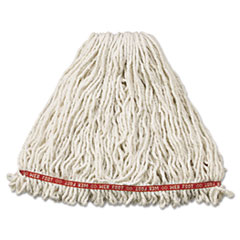 RCP A213WHI Rubbermaid Commercial Web Foot Shrinkless Wet Mop RCPA213WHI