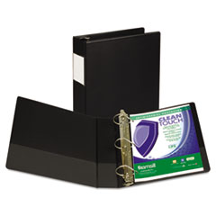 SAM 16360 Samsill Clean Touch Locking D-Ring Reference Binder Protected with an Antimicrobial Additive SAM16360