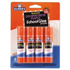 EPI E543 Elmer's Washable School Glue Sticks EPIE543