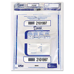 PMC 58049 PM Company SecurIT Triple Protection Tamper-Evident Deposit Bags PMC58049