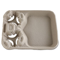 HUH 20990CT Chinet StrongHolder Molded Fiber Cup/Food Trays HUH20990CT