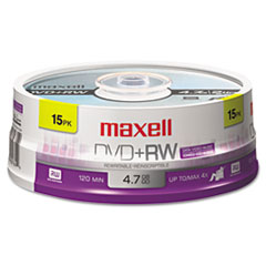 MAX 634046 Maxell DVD+RW Rewritable Disc MAX634046