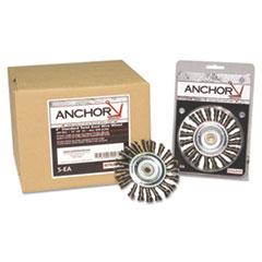 ANR 4K58S Anchor Brand Knot Wheel Brush 4K58S ANR4K58S