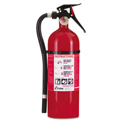 KID 21006204P Kidde Service Lite Multi-Purpose Dry Chemical Fire Extinguisher - ABC Type 21006204 KID21006204P