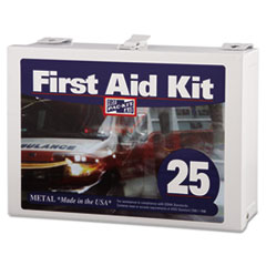 PKT 6086 Pac-Kit #25 Steel First Aid Kit PKT6086