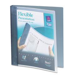 AVE 17676 Avery Flexible View Binder with Round Rings AVE17676