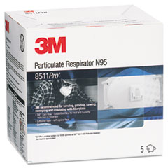 MMM 8511PRO 3M N95 Particulate Respirator 8511PRO MMM8511PRO