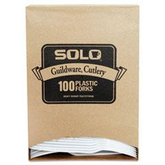 SCC GBX5FW0007BX Dart Guildware Extra Heavyweight Plastic Cutlery SCCGBX5FW0007BX