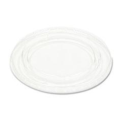 BWK YLS5FR Pactiv Crystal-Clear Portion Cup Lids BWKYLS5FR