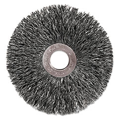 WEI 16973 Weiler  Copper Center Small Diameter Wire Wheel 16973 WEI16973