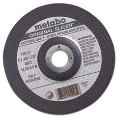 """MEB 55347 metabo  """"ORIGINAL SLICER"""" Cutting Wheel 55347 MEB55347"""
