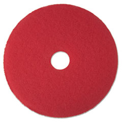MMM 08387 3M Red Buffer Floor Pads 5100 MMM08387