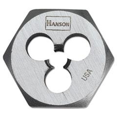 HNS 6534 IRWIN  HANSON  High-Carbon Steel Fractional Hexagon Die 6534 HNS6534