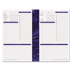 FDP 37063 FranklinCovey Monticello Dated One Page-per-Day Planner Refill FDP37063