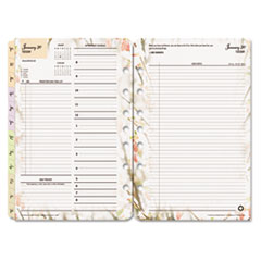 FDP 3544 FranklinCovey Blooms Dated Daily Planner Refill FDP3544
