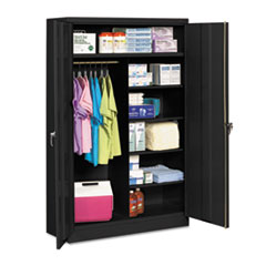 TNN J2478SUCBK Tennsco Assembled Jumbo Combination Storage Cabinet TNNJ2478SUCBK