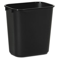 BWK 14QTWBBLA Boardwalk Soft-Sided Wastebasket BWK14QTWBBLA