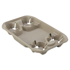 HUH 20969CT Chinet StrongHolder Molded Fiber Cup/Food Trays HUH20969CT