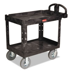 RCP 452010BLA Rubbermaid Commercial Heavy-Duty Utility Cart RCP452010BLA