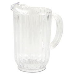 RCP 3339CLE Rubbermaid  Commercial Bouncer  Plastic Pitcher RCP3339CLE