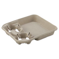 HUH 20974CT Chinet  StrongHolder  Molded Fiber Cup Trays HUH20974CT