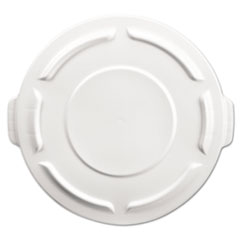 RCP 261960WHI Rubbermaid Commercial Vented Round Brute Lid RCP261960WHI